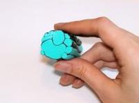 Имитация бирюзы из пластики