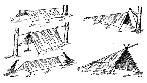Палатка своими руками из брезента