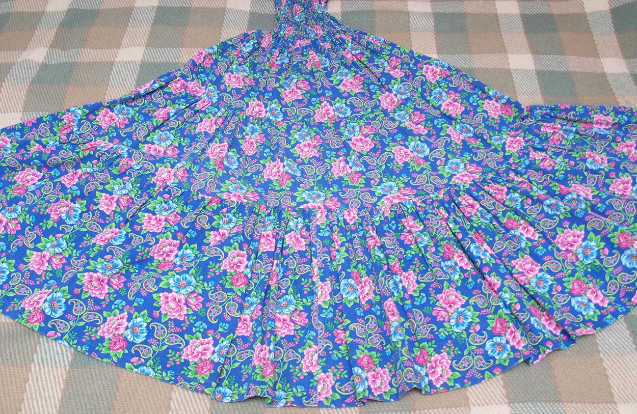 Как сшить многоярусную юбку в пол фото 678