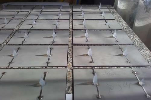 Сборка панели солнечной батареи