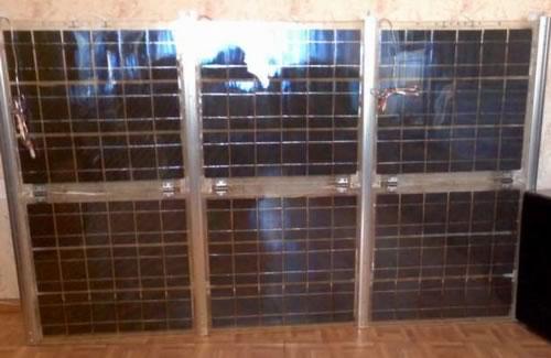 солнечная батарея в сборе, готовые солнечные модули